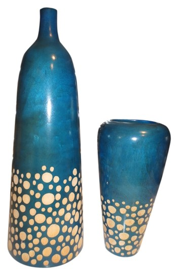 Other Handmade Carved Wooden Decorative Thai Vases