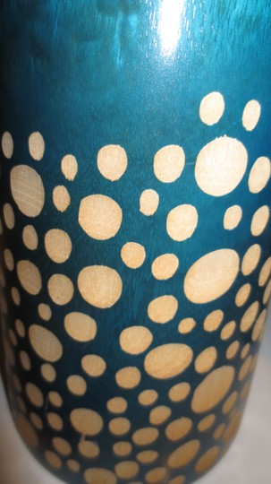 Other Handmade Carved Wooden Decorative Thai Vases Image 1