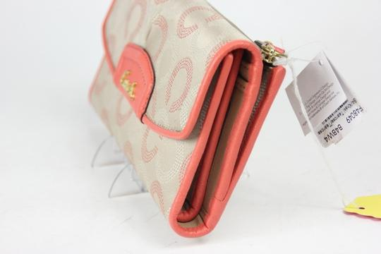 Coach * Ashley Dotted OP Art Check Book Wallet F48049
