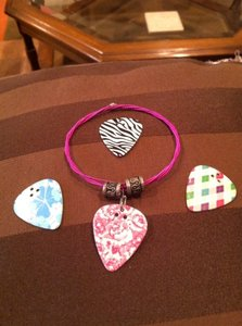 0 Degrees Guitar Pick Necklace