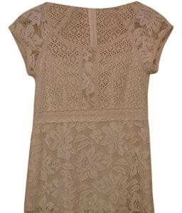 Nanette Lepore Lace Top white