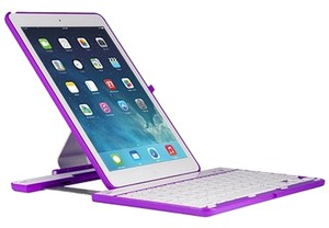 Coverbot NIB Ultra Slim Bluetooth Keyboard Case for iPad Air