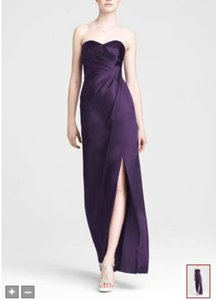 David's Bridal Lapis (Purple) Style F44447 Dress