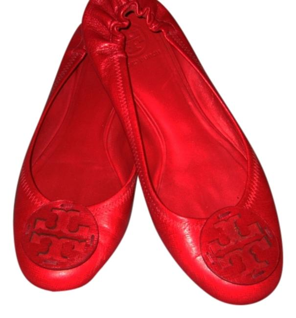 Item - Red Reva Mules/Slides Size US 9.5 Regular (M, B)