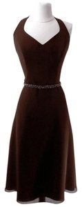 Alfred Angelo Chocolate Style 6323 Dress