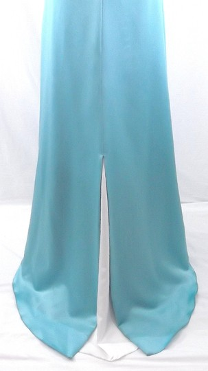 Alfred Angelo Pool / Ivory Satin Style 6552 Formal Bridesmaid/Mob Dress Size 10 (M) Image 10