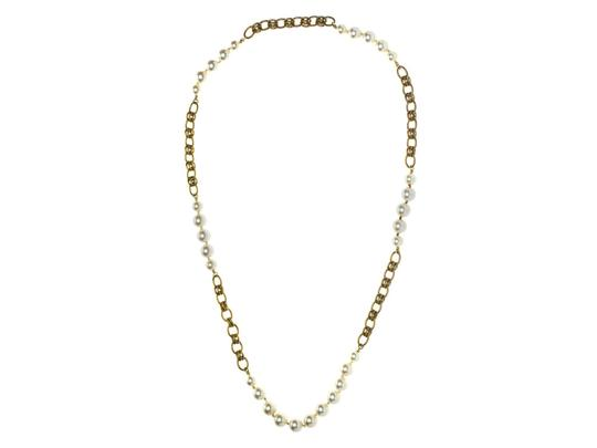 Chanel Chanel Baroque Pearl An Gold Necklace