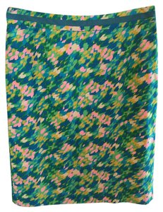 Boden Skirt Blue/green Multi