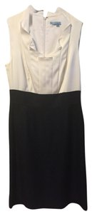 Antonio Melani short dress Navy Blue & Ivory/White on Tradesy