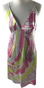 Emilio Pucci short dress Multi Silk on Tradesy
