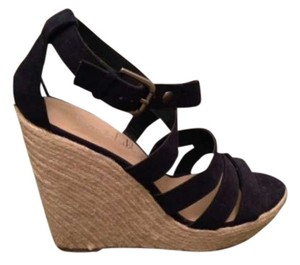 Sam & Libby Espadrille Summer Navy Wedges