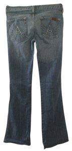7 For All Mankind Classic Signature Boot Cut Jeans-Medium Wash