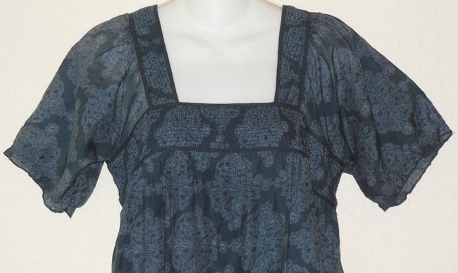Joie Floral Top Blue
