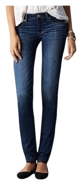 American Eagle Outfitters Like New Denin Free Shipping Skinny Jeans-Medium Wash