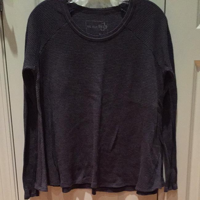 Free People T Shirt Blue Grey