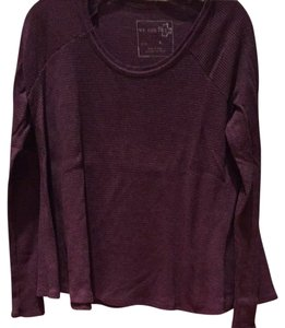 Free People T Shirt Purple