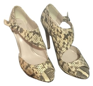 Bourne Print Skin Pumps