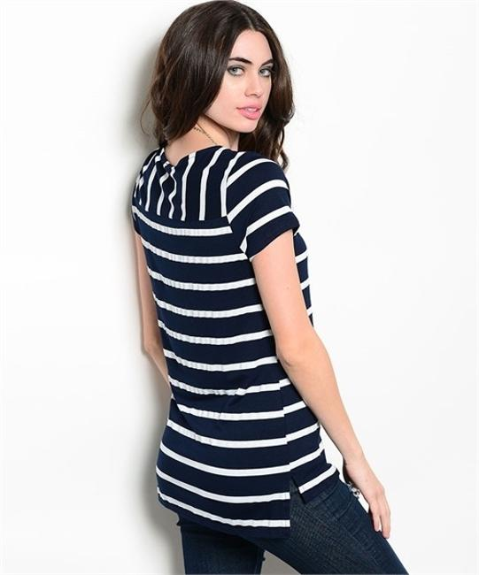 Other Striped Comfortable T Shirt Image 1