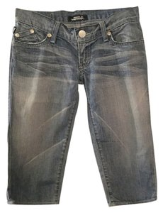 Rock & Republic Capri/Cropped Denim-Light Wash