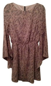 W118 by Walter Baker Kimono Cheetah Dress