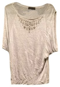 Velvet by Graham & Spencer Top Heather Grey