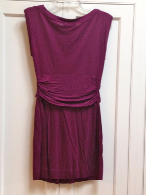 French Connection short dress Plum Summer Holiday Date Night on Tradesy