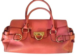 Salvatore Ferragamo Leather Collectible Highend Strap Shoulder Bag