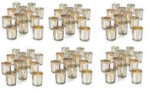 84 Mercury Glass Votives