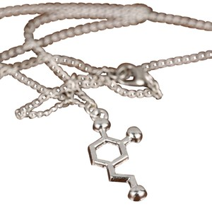Molecular Dopamine Science Pendant Necklace