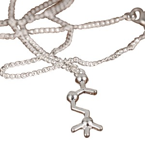 Other Molecular Acetylcholine Science Pendant Necklace