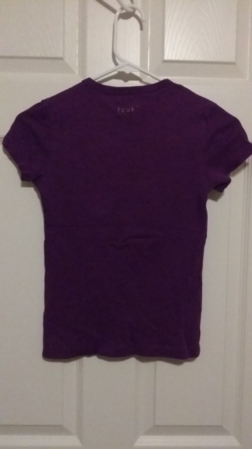 French Connection T Shirt Purple