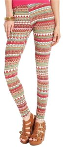 Material Girl Multi-Colored Leggings