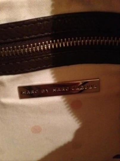 Marc by Marc Jacobs Designer Leather Silver Hardware Shoulder Bag