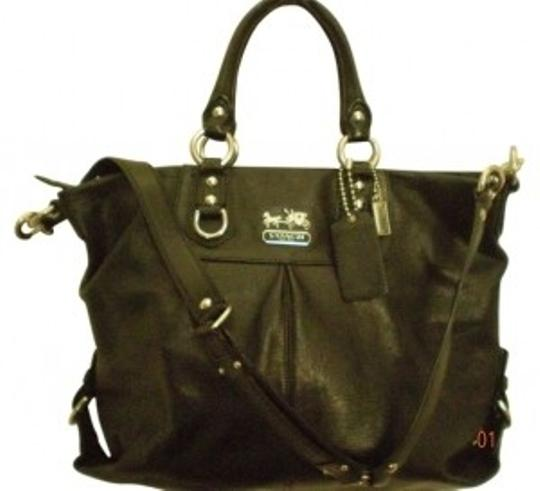 Preload https://item2.tradesy.com/images/coach-madison-julianne-satcheltote-black-leather-tote-37206-0-0.jpg?width=440&height=440