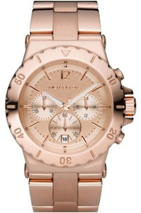 Michael Kors Michael Kors Women's Dylan Rose Gold-Tone Stainless Steel Bracelet Watch 42mm MK5314