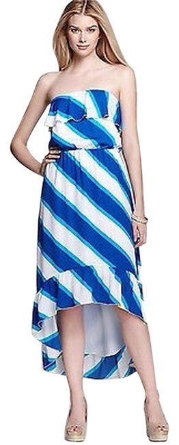 Blue Gold White Maxi Dress by Lilly Pulitzer