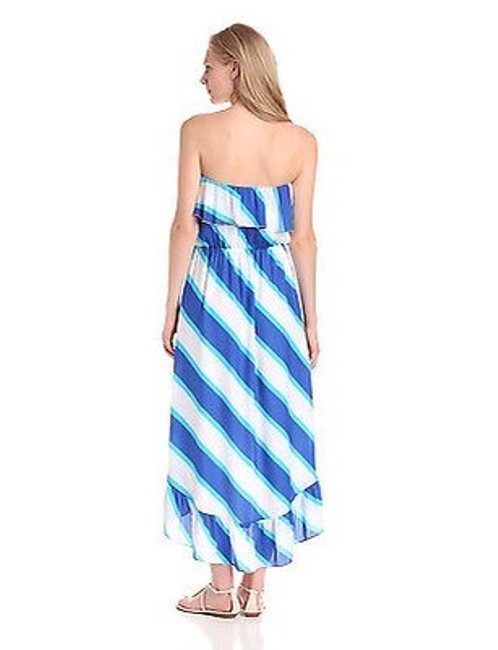 Blue Gold White Maxi Dress by Lilly Pulitzer Image 1