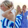 Blue Gold White Maxi Dress by Lilly Pulitzer Image 3