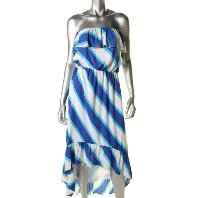 Blue Gold White Maxi Dress by Lilly Pulitzer Image 4