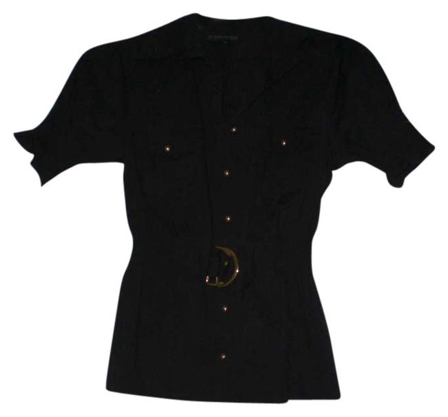 Rampage Button Down Shirt Black