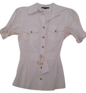 Rampage Button Down Shirt White