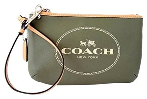 Coach Wristlet in Olive