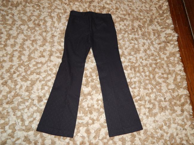 Elie Tahari Brocade Classic Formal Flare Pants Black