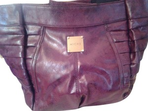 MICHE Plum Demi Shell Hobo Bag