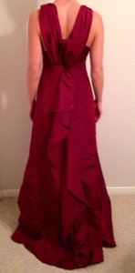 David's Bridal Gown Strappy Full Length Dress