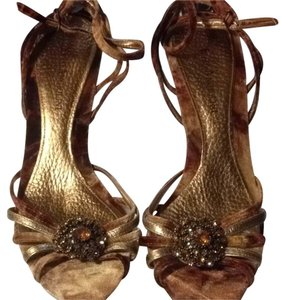 Enzo Angiolini Multi colors and shades of brown Pumps