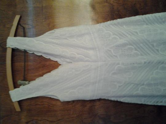 Icon White Lace Kathryn Dianos Traditional Bridesmaid/Mob Dress Size 6 (S)