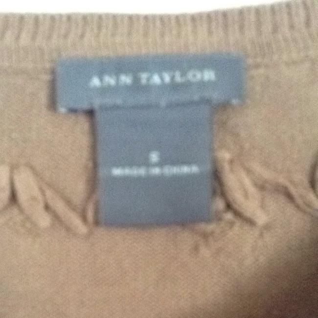 Ann Taylor T Shirt Light Brown