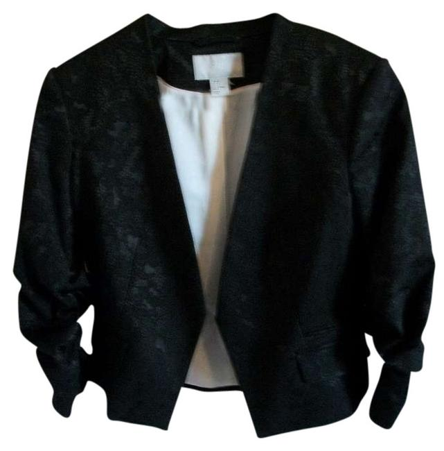 Preload https://item1.tradesy.com/images/h-and-m-black-lace-blazer-size-8-m-372430-0-0.jpg?width=400&height=650