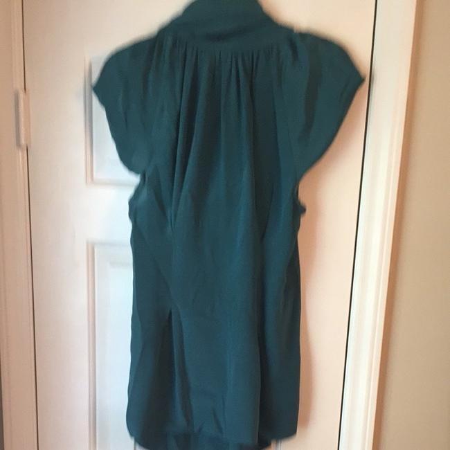 Odille Top Emerald Green